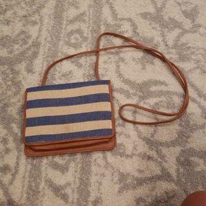 Small crossbody handbag.